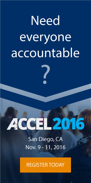 ACCEL 2016 conference, hosted by Partners In Leadership